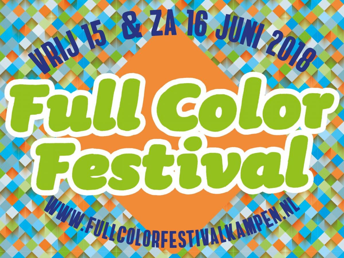 Full Color Festival 2018, 't Ukien, vr 15 juni 2018